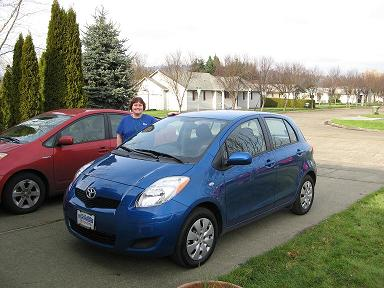 Darcie and Her 2009 Toyota Yaris