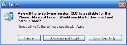 iPhone Update Download