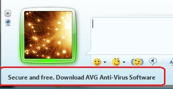Messenger Promotes AVG